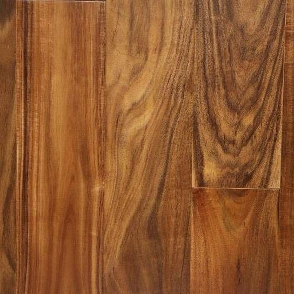 Bordeaux Smooth Finished Random Lengths Hardwood Flooring - Acacia Natural