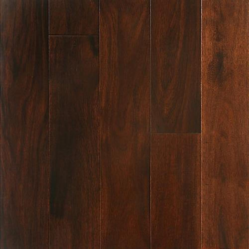 Bordeaux Smooth Finished Random Lengths Hardwood Flooring - Acacia Mahogany