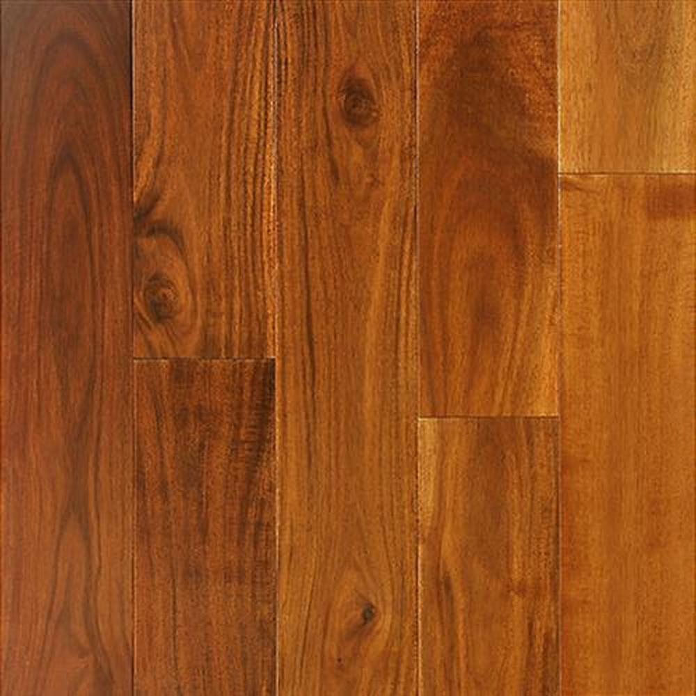 Bordeaux Smooth Finished Random Lengths Hardwood Flooring - Acacia Calico