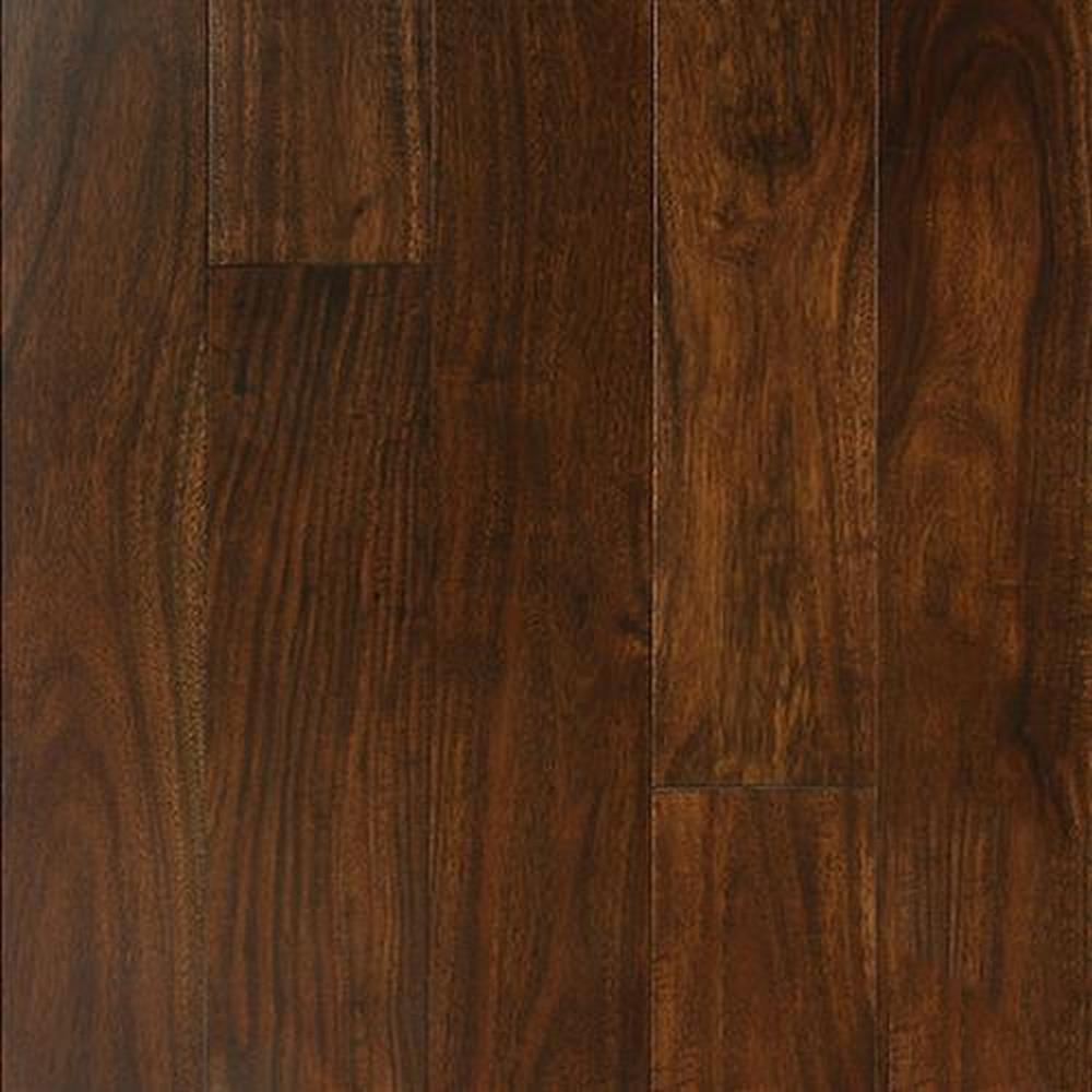 Bordeaux Smooth Finished Random Lengths Hardwood Flooring - Acacia Aztec Tan