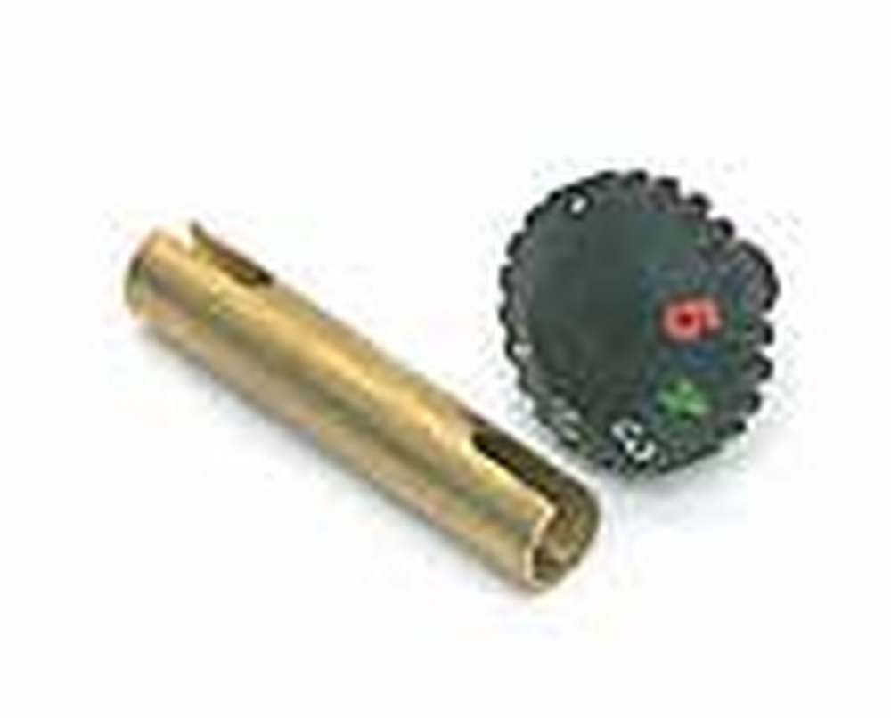 "Taylor Tools 890.13 790 3"" Conventional Seam Iron Replacement Temp. Knob Control & Brass Extension"