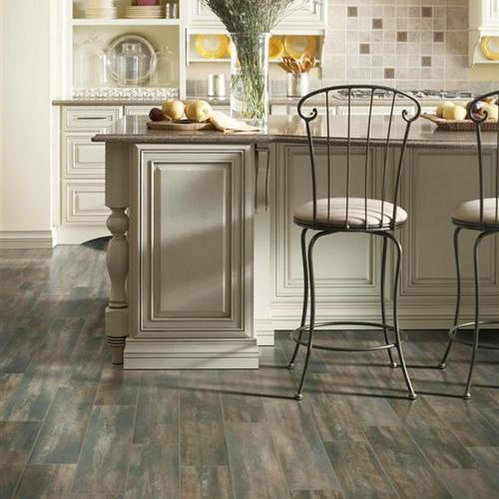 Townhouse Glazed Porcelain Wood Look Floor Tile