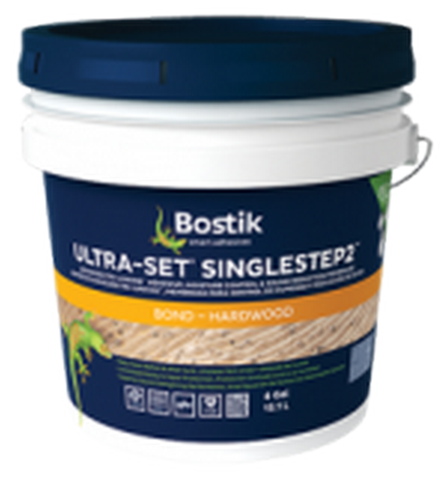 Bostik Ultra-Set SingleStep 2 Adhesive, Moisture Control, and Sound Reduction (4 Gal.)