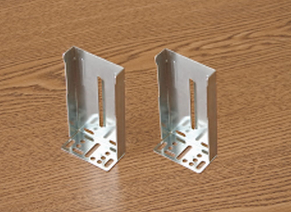 BR-3 Side Mount Soft Close Roller Bearing Drawer Slide Bracket - Pair